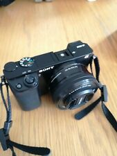 Sony Alpha A6000 24.3MP Digital Camera - Black (Kit with 16-50 mm Power Zoom Le…