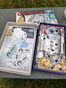 Star wars operation game in original box