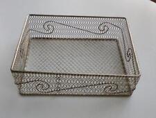 Unbranded Metal Rectangular Decorative Baskets