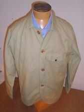 Filson Tin Cloth 100% Cotton Scout Work Jacket NWT XXL $385 Khaki made in USA