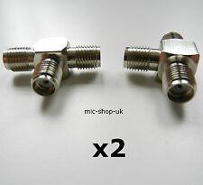 SMA 3 Sorties T/Y Adaptateur Répartiteur Coupleur Prise Femelle Câble D'antenne/