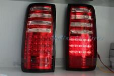 Red Clear Rear Tail Lights For Toyota Land Cruiser FJ80 LEXUS LX450 1991-1997