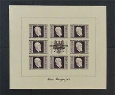 nystamps Austria Stamp # B187 Mint OG NH $500