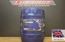 15w40 Engine Oil 20 Litre Mannol Standard Diesel Oil API Cf/sl German Hi Spec