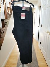 Wrangler Authentic black jeans 54x30. New with Tags.