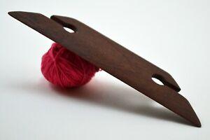"""Weaving Shuttle for Inkle Loom Tablet or Card Weaving, Handmade, 4.5"""" (Mahogany)"""