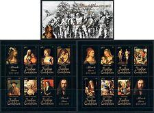 Central Africa Art German Albrecht Durer complete MNH stamp set 15 sheets