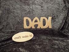 Signo De Pie De Madera Dadi Mdf galés palabra 18mm palabras geiriau Cymraeg