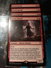 4 x Storm Herald - Theros Beyond Death-MTG-Magic the Gathering NM