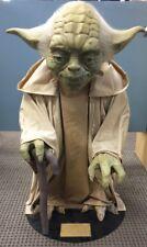 "Star Wars Life Size Yoda Prop Figure Model Statue 36"" Tall Rare"