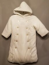Ralph Lauren Ivory Baby Warm Bunting for Stroller One Size 0-6 Months Gorgeous