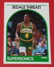 # 287 SEDALE THREATT SEATTLE SUPERSONICS 1989 NBA HOOPS BASKETBALL CARD