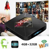 X10 PLUS 6K Android 9.0 TV Box S905X2 4GB+32GB Wifi Bluetooth4.0 HD Media Player