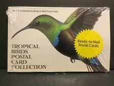 1998 Tropical Birds Prepaid Postal Cards Sealed Booklet of 20 Ux296a Sku254