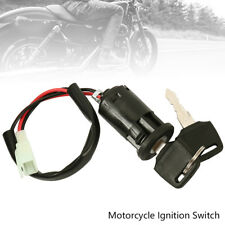 Motorcycle Ignition Barrel Key Switch 2 wire Universal On / Off Metal ATV wniu