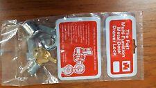 Fort MFW23010 Metal Desk Locks * Keyed Alike KA224 * A Lot of Ten *