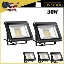 5 x 30W LED Flood Light Outdoor Wall Spotlight Landscape Garden Warm White Lamp
