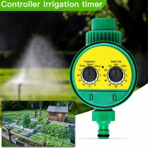 Automatic Water Timer Irrigation Controller Digital Watering Tap Timer Garden @I