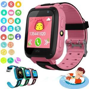 Kids Smart Watch Touch Screen Camera GPS Tracker Flashlight Call SOS Phone Gift