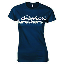 """THE CHEMICAL BROTHERS """"LOGO"""" LADIES SKINNY FIT T-SHIRT"""