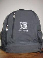 PT-Navigator by Picnic Time Stadium Bleacher Seat Cooler Backpack Gray Black