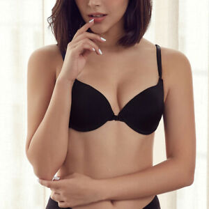 Women Bras Push Up Sexy Lingerie Underwire Brassiere Front Closure Bralette Tops