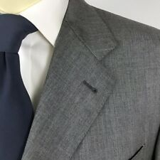 CANALI 44L Proposta Fit Two Piece Suit Gray 100% Wool W32 L31 Pants Italy Long