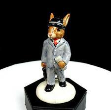 "Royal Doulton #Db203 Businessman Bunnykins 2396/5000 Ltd Ed 4 1/4"" Figurine 1999"