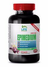 Testosterone Pills XL Capsules - Epimedium 1560mg - Epimedium Icariin 1B