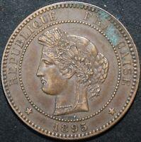 1895 A | France 10 Centimes | Bronze | Coins | KM Coins