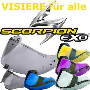 SCORPION Visier Pinlock für alle EXO ADX-1 Helme 390 490 510 710 920 1400 2000
