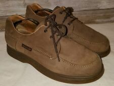 Men's Mephisto Mobils suede Brown Leather Oxford Shoe Size 8