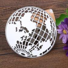 DIY Scrapbooking Metal Cutting Dies Earth Globe Photo Album Decorative Embossing