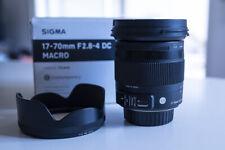 Sigma 17-70mm f/2.8-4 DC Macro OS HSM Contemporary Monture Nikon