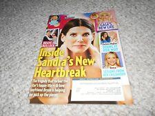US Weekly Magazine 2018 Sandra Bullock Justin Bieber Jewel Reese Witherspoon