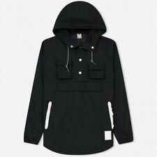 ASICS Running Men's Premium Logo Hooded Jacket - Small - Black - New
