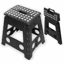 Plastic Folding Step Stool Multi Purpose Home Kitchen Easy Storage Foldable