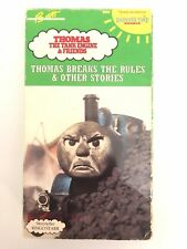 Thomas The Tank Engine & Friends Thomas Breaks the Rules Vhs-Tested-Rare-Ship 24
