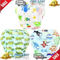 Pañales De Tela Para Bebe Nadar 100% Ecologicos 0-24 Meses Bebés Reutilizables
