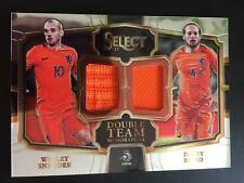 2017-18 Panini Select Double Team Jersey Wesley Sneijder Daley Blind NIEDERLANDE