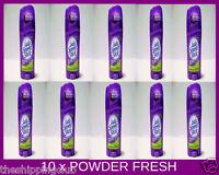 10 x LADY SPEED STICK 1.4oz POWDER FRESH Invisible Dry Deodorant Antiperspirant