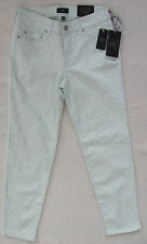 NYDJ Not Your Daughter's Alisha Ankle Jeans-Basketweave Honeydew-Size 0- NWT