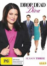 DROP DEAD DIVA : COMPLETE SEASON 3  - DVD - UK Compatible - New & sealed