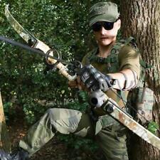 Archery Takedown Recurve Bow 40lbs Fishing Hunting Arrows Shooting Longbow Set