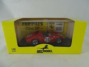 1:43 Art Model #042 Ferrari Dino 246SP Lm 1962 Rodriquez #28 New/Boxed