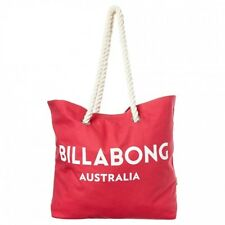 "NEW + TAG BILLABONG ""ESSENTIAL"" LARGE BEACH GYM TRAVEL BAG HANDBAG WILD BERRY"