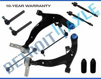 Front Lower Control Arm Ball joint Tie Rod Sway link for 2003 2004 Nissan Murano