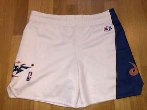 Vintage XL XLarge Washington Wizards CHAMPION NBA Jersey Shorts Men's X417