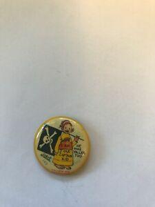 "1896  ""YELLOW KID""  HIGH ADMIRAL CIGARETTE   PINBACK  BUTTON   #142   EX. COND."