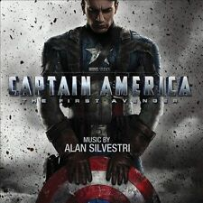 Captain America, Composer: Alan Silvestri CD 2011